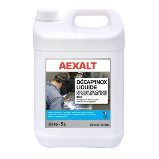 Decapage Des Cordons De Soudure Sur Acier Decap Inox Liquide