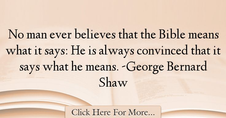 George Bernard Shaw Quotes About Religion - 58429