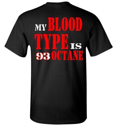 Blood Type biker T-Shirt
