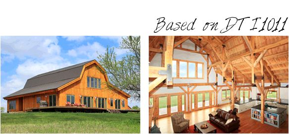 pre-designed homes image example great plains gambrel barn