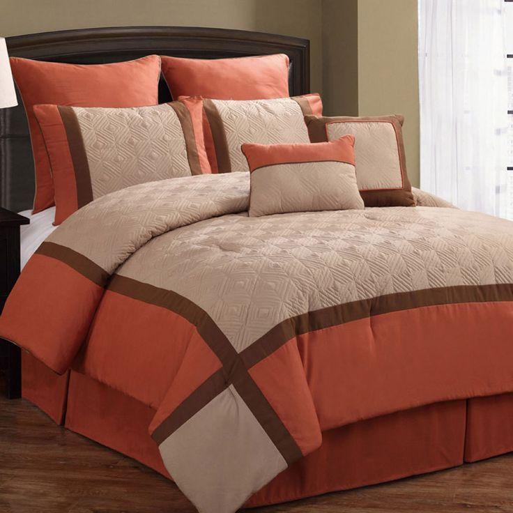 Bedroom Sets For Cheap Burnt Orange Bedroom Accessories Art Themed Bedroom Bedroom Sofa: 14 Best New Bedding! Images On Pinterest