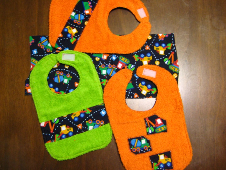 More bibs and burp cloths