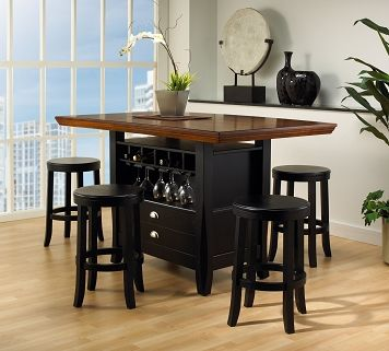 Casual Dining Room Furniture The Gabriel Collection Pub Table
