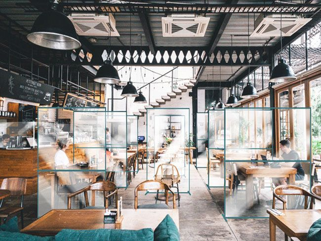 Social Distancing Dividers For Restaurants Screens Partitions Coffee Shop Interior Design Restaurant Design Restaurant