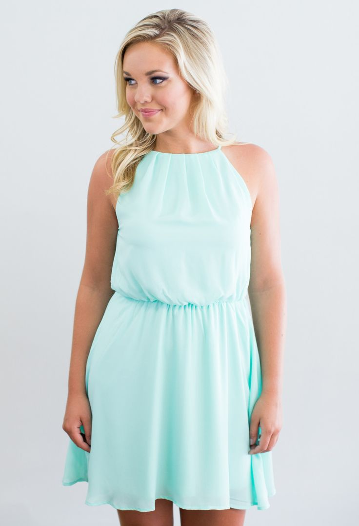 Light Up My Life Dress - Mint Dress for Summer - This would be a gorgeous bridesmaid dress!