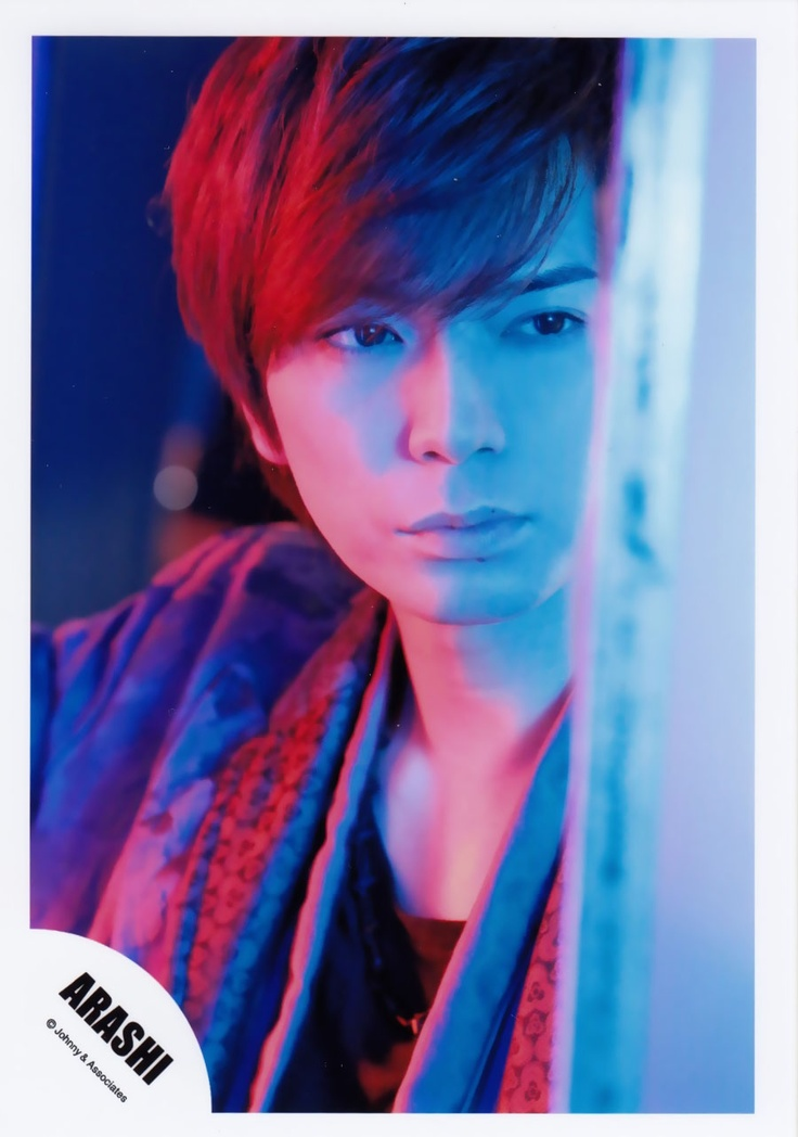 Jun Matsumoto - Love this picture, he is SO hot!