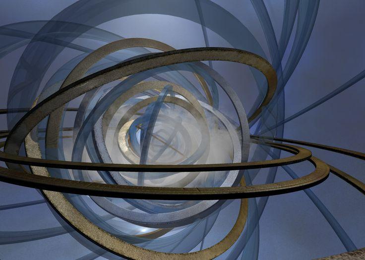 Les anneaux temporels, accessibles grâce au chronolabe.