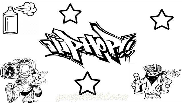 Graffiti Ausmalbilder Hip Hop Ausmalbilder Zum Ausdrucken Ausmalbilder Zum Ausdrucken Kostenlos Ausmalbilder