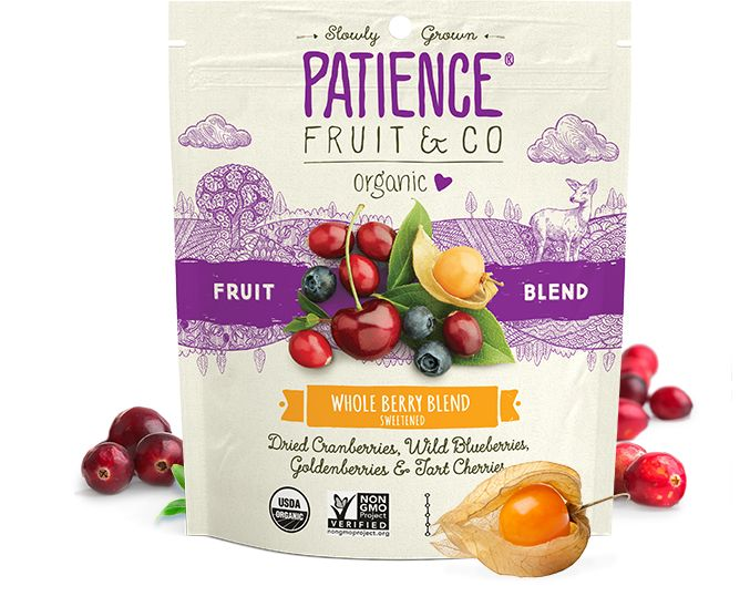 Patience Fruit & Co. - Organic Snacks - Whole Berry Blend