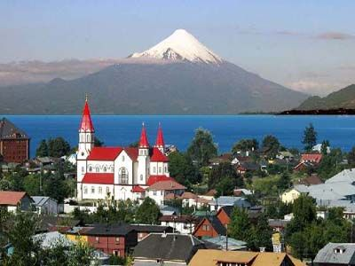 Puerto Montt, Chile (south of Chile - lakes and volcanoes)  Gorgeous