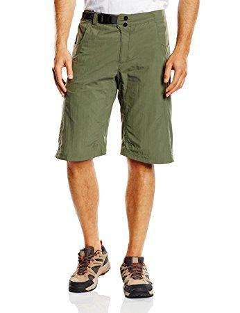 Adidas HT HIKE-Pantaloncini Bermuda, Uomo, Shorts HT Hike Bermuda, Base Green S15, 54