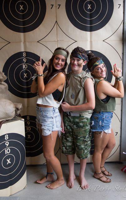 "Photo 21 of 24: Military, Nerf, Camo / Birthday ""Devyn's Nerf War Birthday Bash"" | Catch My Party"