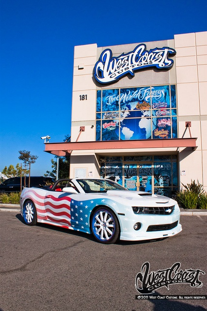 Flagged Camaro by West Coast Customs