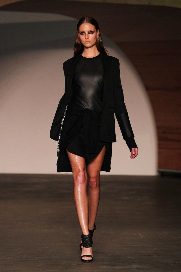 Ksubi at Sydney Fashion Week 2012