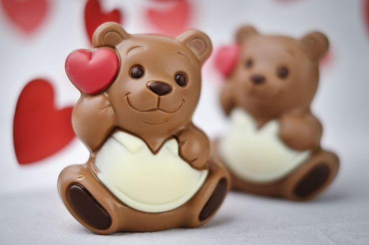 Chocolate Teddy Bear #chocolate #chocolissimo #valentines #walentynki #giftsideas #czekolada #misiek #love