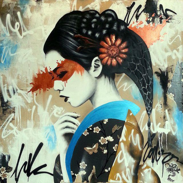 Fin DAC, A London Stencil Artist. love these.