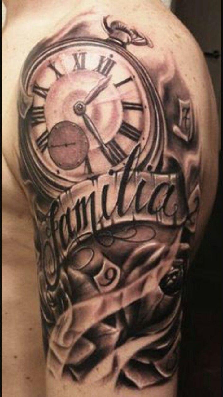 Pin de Camilo Pineda en tatuajes Tatuajes de relojes
