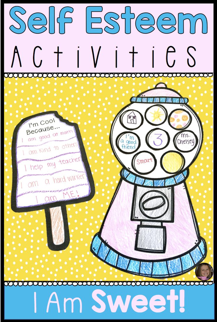 These 5 self esteem activities are sure to engage your students with the fun dessert theme! Students will learn self esteem principles such as identifying strengths, celebrating uniqueness, and positive self talk.