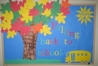 1 - 2 - 3 Learn Curriculum: New September Bulletin Board Idea