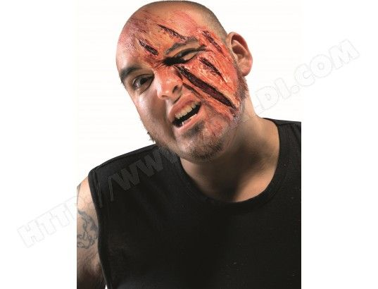 maquillage halloween griffe