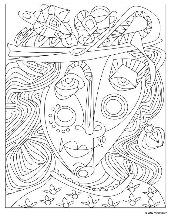 53 best picasso images on pinterest - Famous Art Coloring Pages Picasso