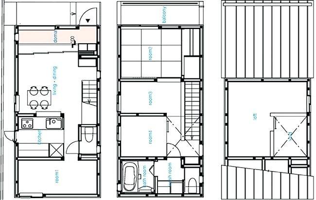 Japanese House Floor Plans Japan Small House Floor Plans Humble