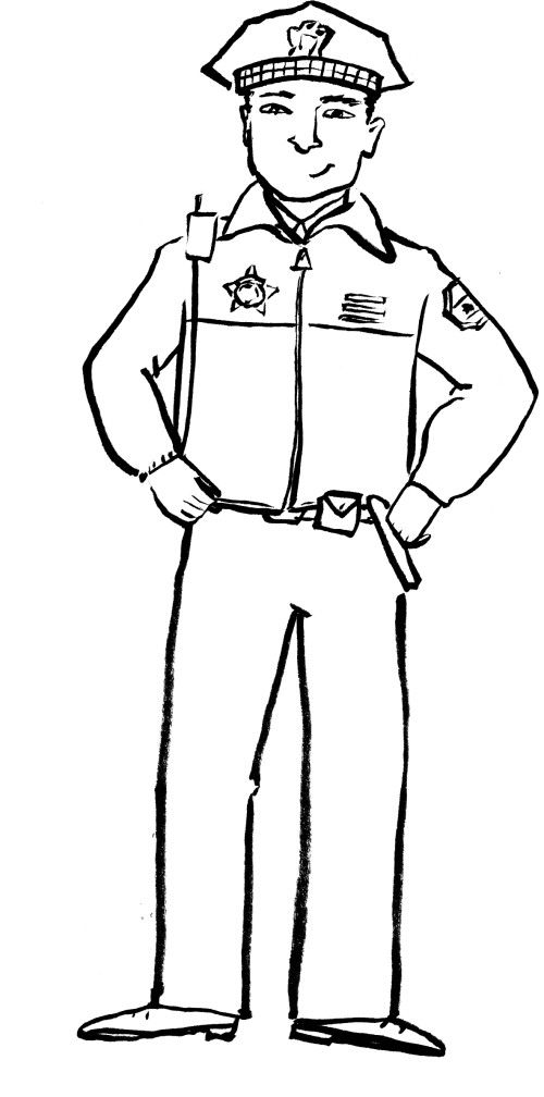 9 11 First Responders Coloring Page Sketch Coloring Page
