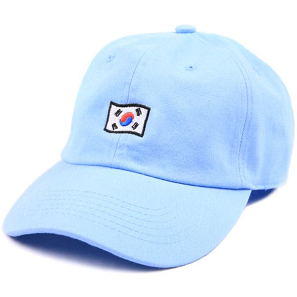 Cast Shadow Korea Low Profile Sports Cap - Blue ($24) ❤ liked on Polyvore featuring men's fashion, men's accessories, men's hats, accessories, baby blue, mens sports hats, mens sport hats and mens caps and hats