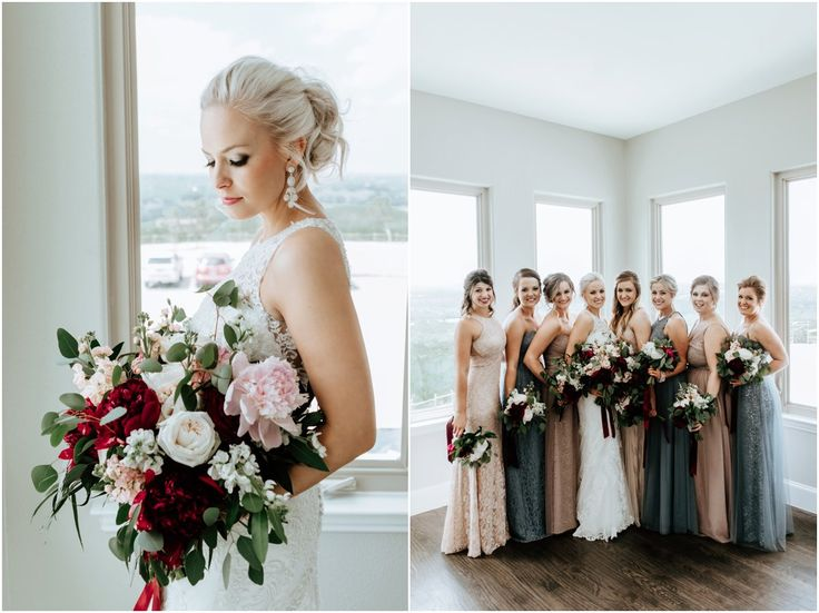 9 best x wild wedding florals images on pinterest for Wedding dresses dallas fort worth