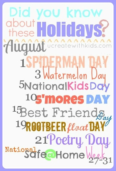 August Holiday