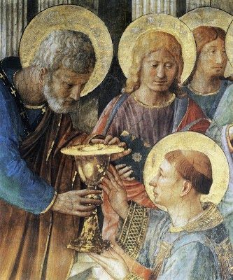 Painting by Fra Angelico