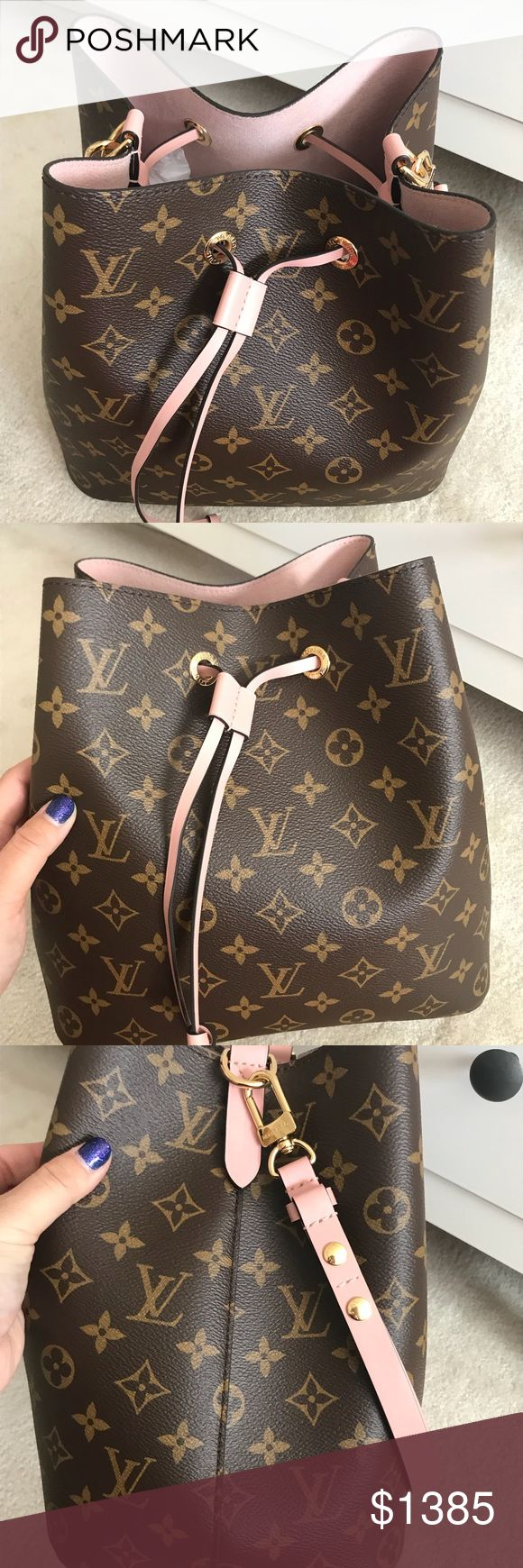 Louis Vuitton Neo Noe Rose Poudre In pristine condition. Comes with dustbag. Can be converted from shoulder to crossbody. Lightweight and a stunning color. Louis Vuitton Bags