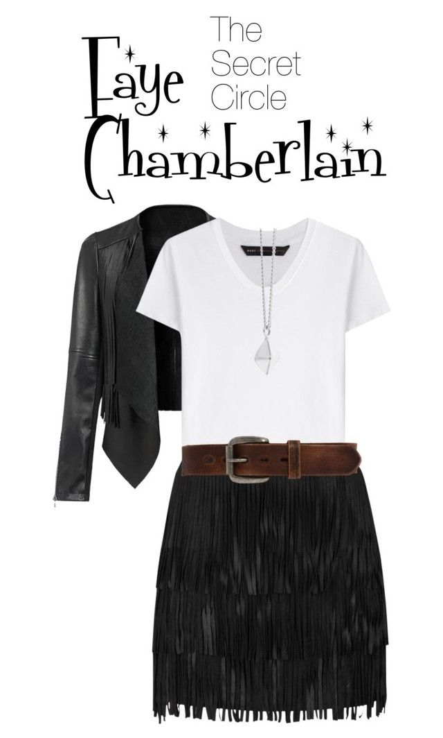 """""""The Secret Circle- Faye Chamberlain"""" by julietrose2003 on Polyvore featuring Marc by Marc Jacobs, Alice + Olivia, Bed
