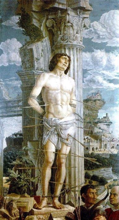 Andrea Mantegna, San Sebastiano, 1480