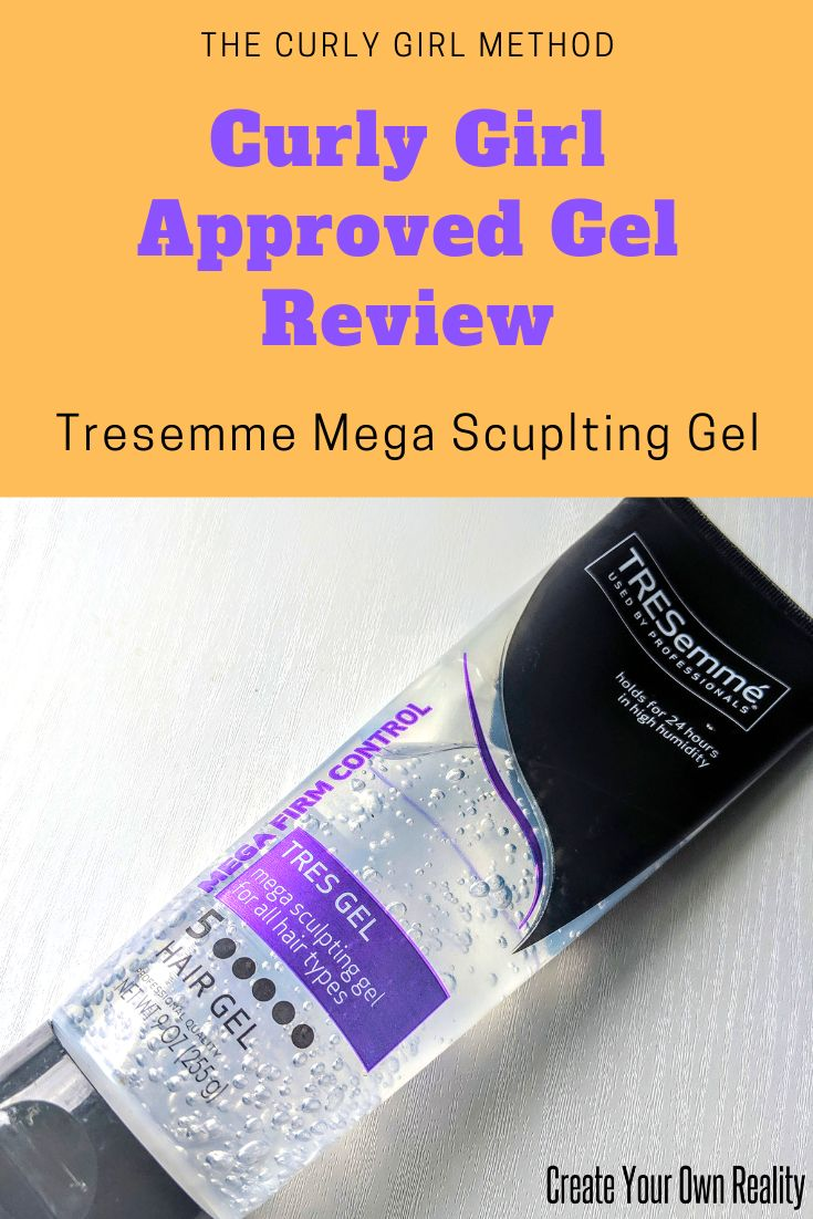 Curly Girl Approved Product Review Tresemme Mega