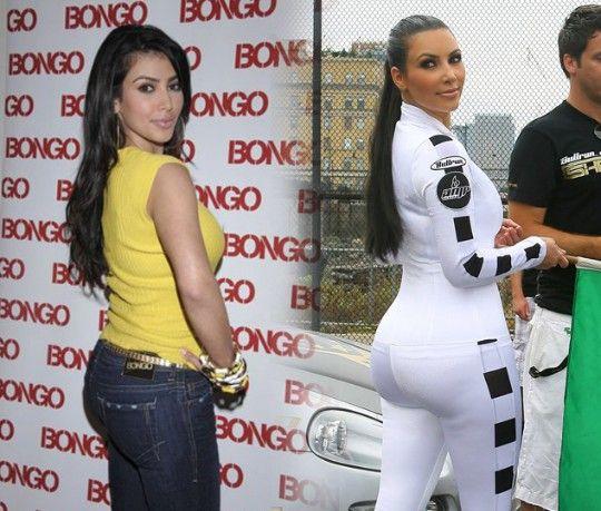 Kim kardashian muestra su culo