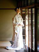 白無垢2052「流水 金刺繍 鶴と牡丹」/レンタル和装