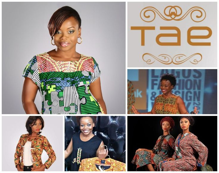Bisola Edun - an innovative and talented female clothing designer from Nigeria.  This hugely talented Nigerian fashion designer is building a major fashion brand for Africa, and bringing her unique vision, wow factor approach, and design philosophy to her clothing label.  Contacts: Email: bisola@taeafrika.com Website:  www.taeafrika.com Tel:  +234 706 099 9631