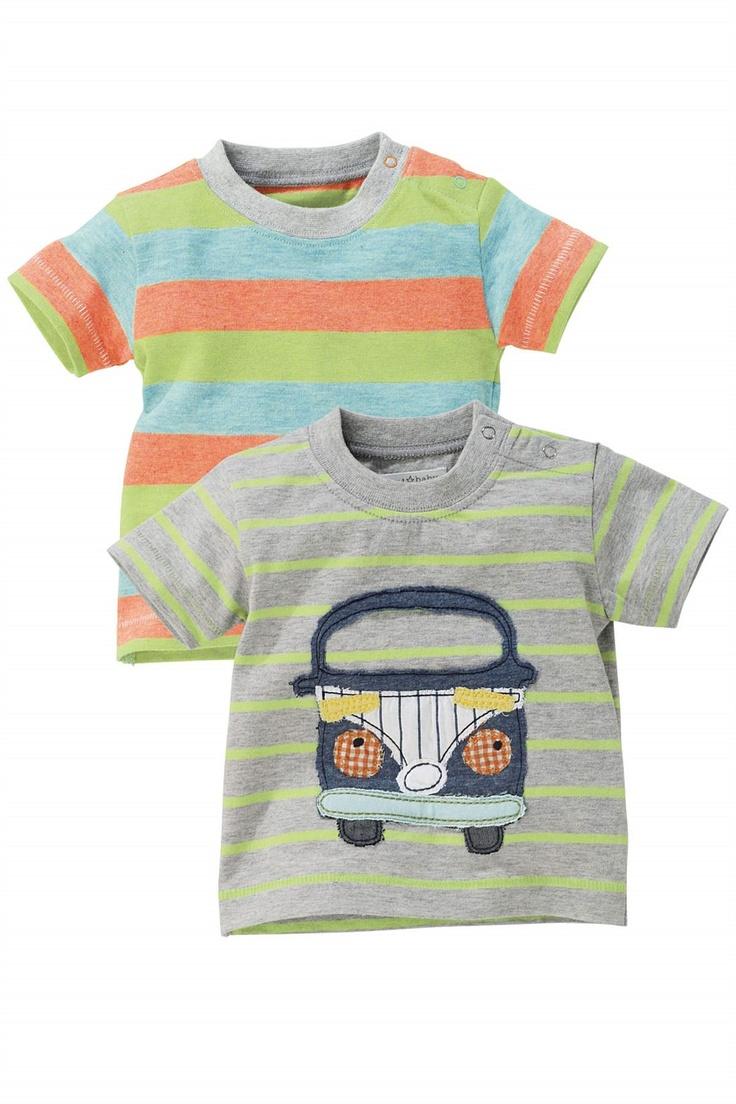 Newborn Tops - Baby Tops and Infantwear - Next Campervan T-Shirts Two Pack - EziBuy Australia