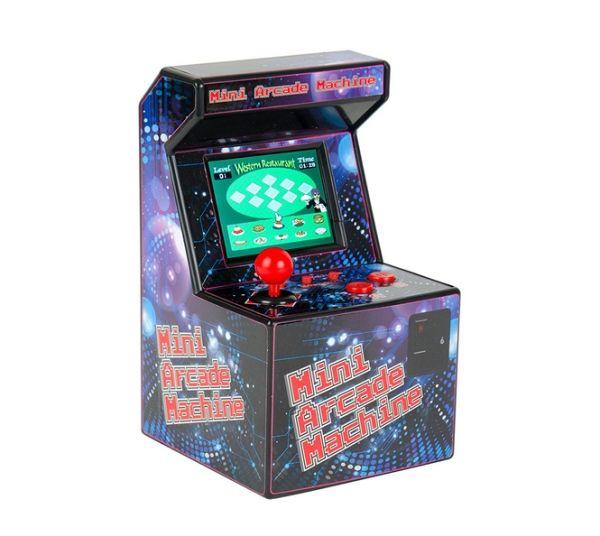 Mini Arcade Machine mit 240 Spielen und Games als Weihnachtsgeschenk.