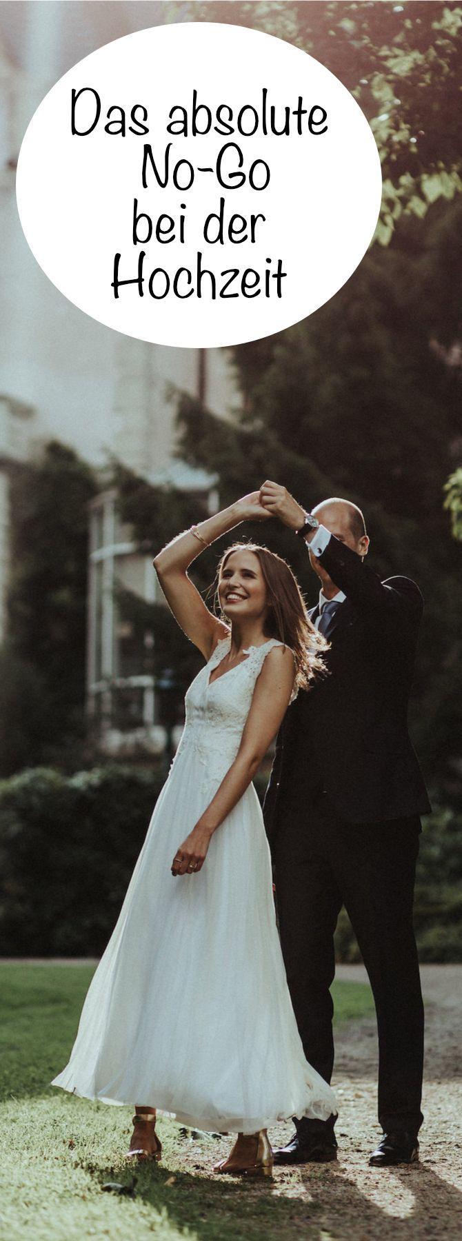 Das absolute Hochzeits-No-Go? Für uns was das einfach das No-Go bei der Planung der Hochzeit!