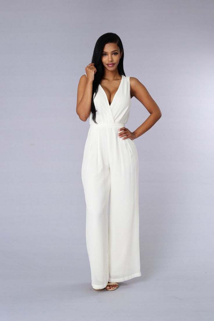Hera Jumpsuit Ivory Products Ivory And Jumpsuits