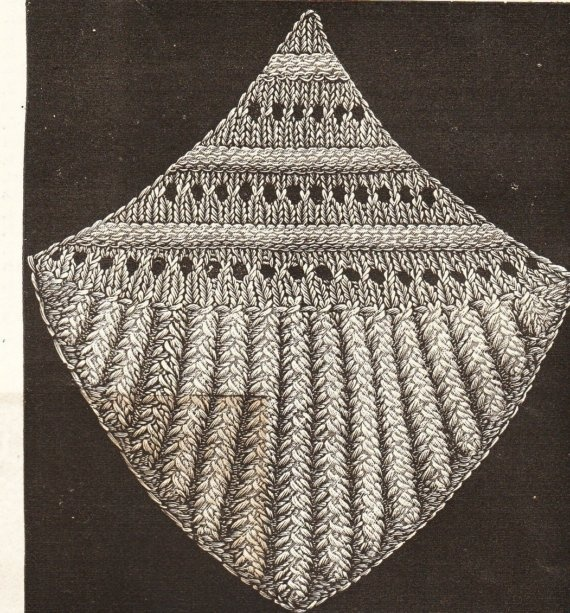 17 Best images about Motifs and squares -vintage knitting and crochet pattern...