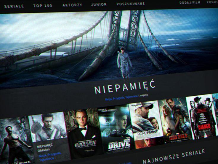 Behance :: VOD service by Martin Wisniewski
