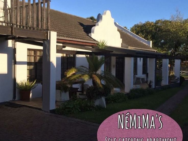 NÉMIMAS Self Catering Unit - NÉMIMAS is situated in the beautiful George. It is near grocery stores, restaurants, the Garden Route Mall and about 7km from Victoria Bay. The apartment offers all essentials with DSTV, braai area and ... #weekendgetaways #george #gardenroute #southafrica