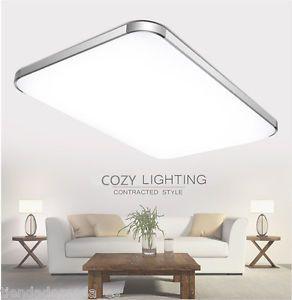 36W-Lampara-LED-Iluminacion-de-Techo-220V-Regulable-Luz-Remoto-inalambrico-EU