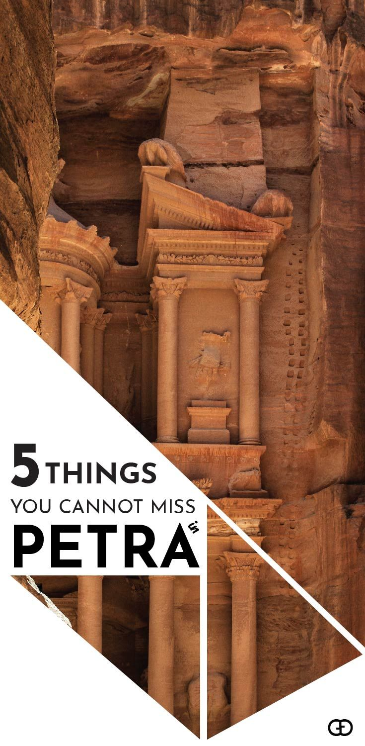 Wonderful Petra | Become Indiana Jones for a day! Petra is one of the wonders of the world. Here you will find the most wonderful things not to miss while visiting Petra.