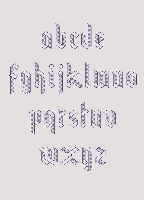 simple // Really nice typeface for a personal project by Julia Agisheva. Lovely clean, geometric feel.