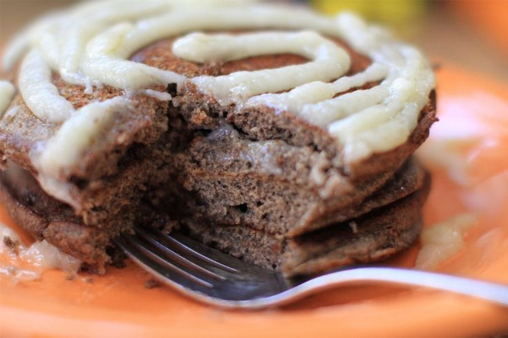 Celebrate with cinnamon swirl pancakes on National Pancake Day - cinnamon swirl pancakes