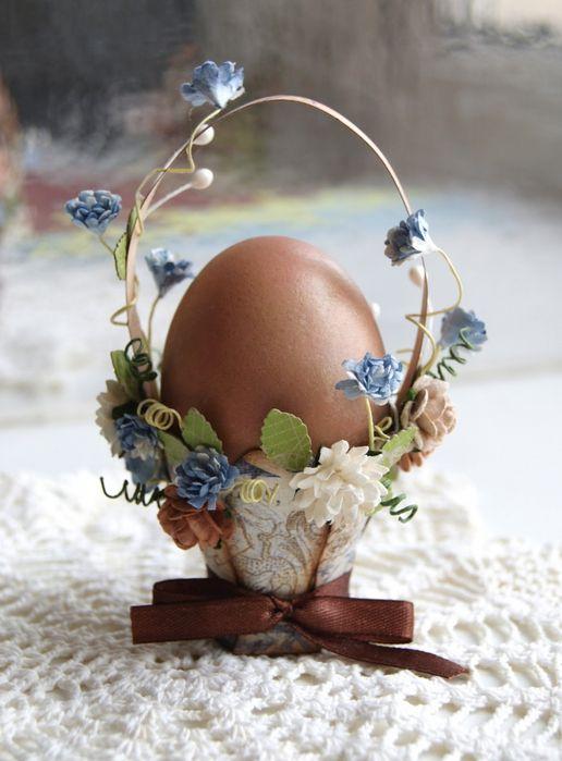 Корзинка для пасхальных яиц своими руками. Шаблон. Мастер класс.